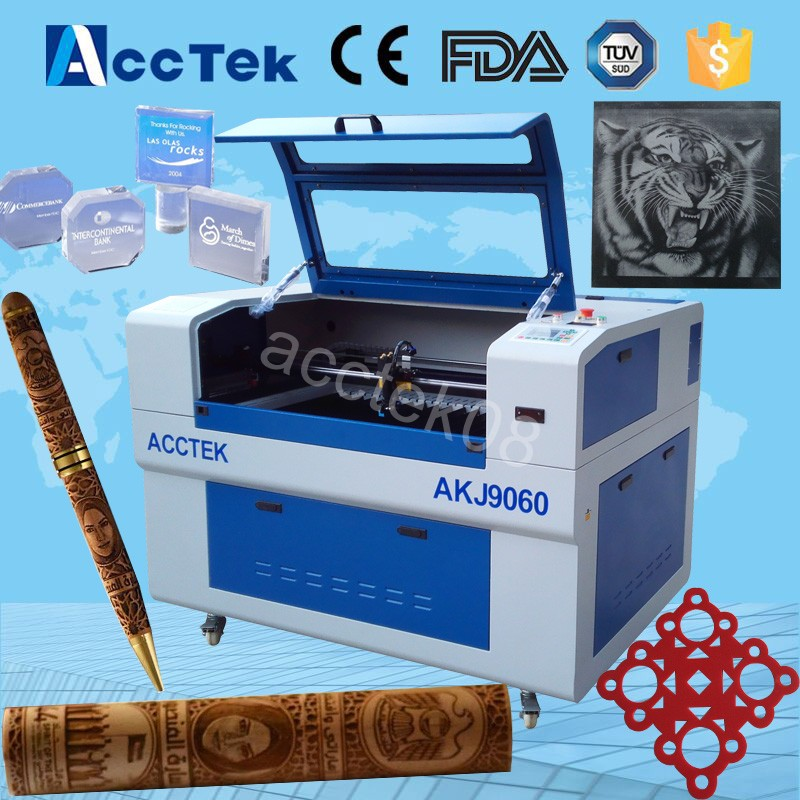 best wood laser cutting machine, cnc laser engraver, router and laser 6090 co2 laser engraving machine acctek china 6090 co2 die board laser cutting machine co2 flatbed laser cutting machine