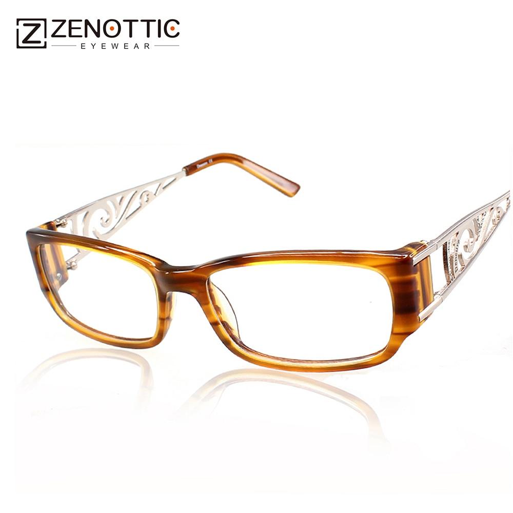 2fc577d4c3 ZENOTTIC Design Fashion Women full rim glasses eyewear frames