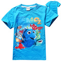 Finding Dory T-shirt Girls Tops And Tees Children Cartoon Kids Clothes Girls Summer 2016 Finding Nemo Clothing Boys T Shirt