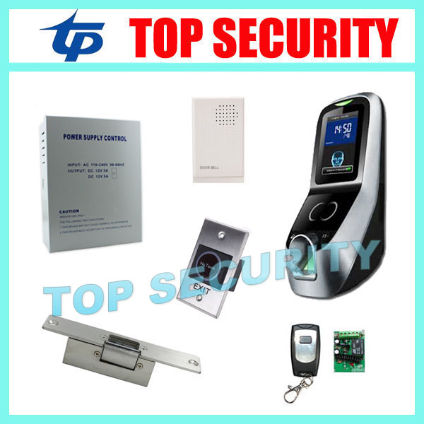dhl free shipping face fingerprint password time clock attendance english interface zk iface7 face recognition access control ZK multibio700 door access controller biometric face and fingerprint time attendance and access control system with accessories