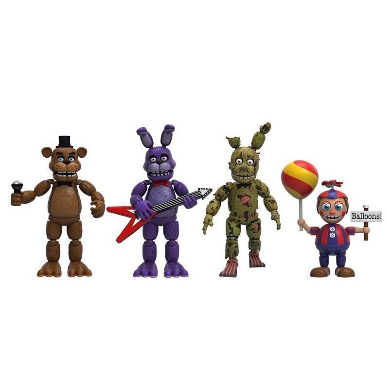 Image 5 - Funko POP Five Night At Freddy's FNAF Action Figures Toys Foxy Freddy FNAF sister location PVC model Toys for Children gift-in Action & Toy Figures from Toys & Hobbies