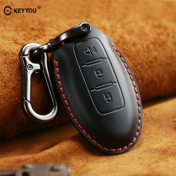 cover Nissan Tidda Livida X-Trail T31 T32 Qashqai March Juke Note GTR Keychain Ring