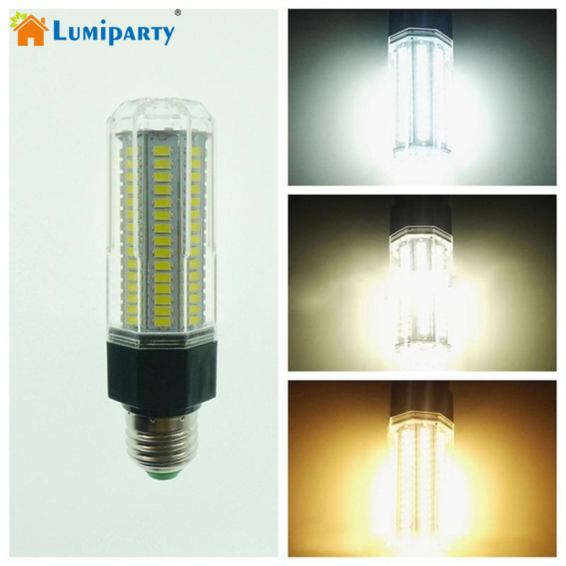 Lumiparty E27 LED Lamp 5730 SMD 126 LEDs 14W Corn Light Bulb Home Lighting 360 degree Beam Angle Lamps 110-265V