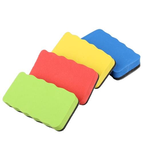 10pack (Magnetic Whiteboard Eraser For Dry Magnetic Board Multi Color Office School Supply Color Rabdom