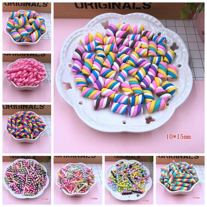 Scrapbooking Ton Swirl Candy Für Handwerk Machen Heißer Verkauf Nette Kawaii Eibisch Diy üBereinstimmung In Farbe Telefon Deco Freies Verschiffen!