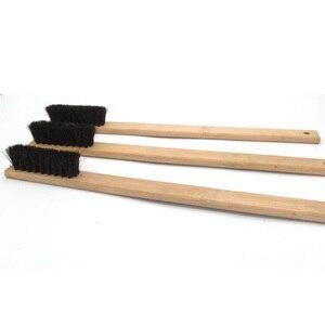 Image 4 - 1 шт., размер 40 см, щетка для автомойки, Бамбуковая щетка с длинной ручкой, щетка для щетины, инструменты для ухода за машиной, автодетализация 2019