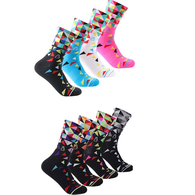 Bmambas 2017 High Quality Professional Brand Sport Socks Breathable Road Bicycle Socks Outdoor Sports Racing Cycling Socks
