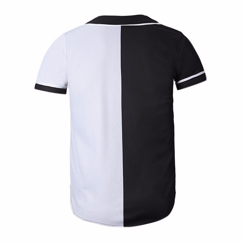 3D Cool Suit Cat Black   White Baseball Jersey Shirts Button Down Mens  Casual T Shirt Tee Fashion Summer Short Sleeve Top-in T-Shirts from Men s  Clothing on ... a630da4bc