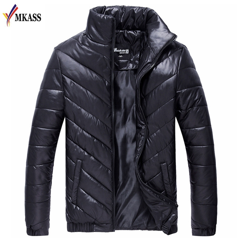 MKASS Winter Men Jacket 2018 Brand Casual Mens Jackets And Coats Thick   Parka   Men Outwear Jacket Male Clothing Plus Size 5XL