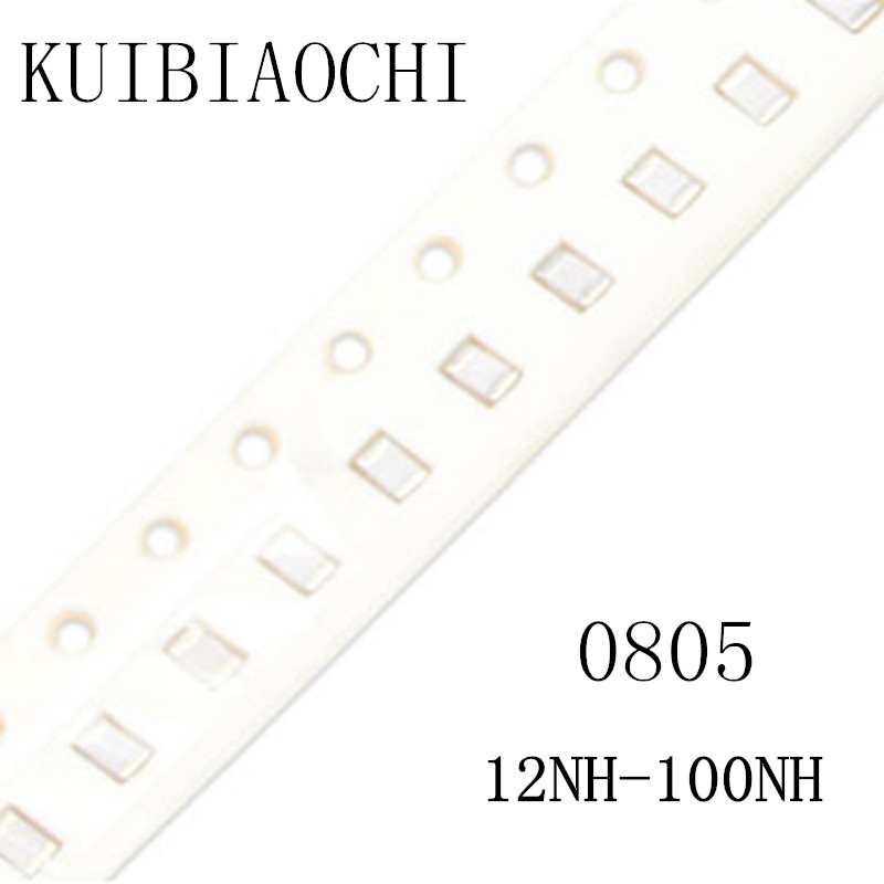 50pcs/lot 0805 SMD Inductor 12nH 15nH 18nH 22nH 27nH 33nH 39nH 47nH 56nH 68nH 82nH 100nH 4000pcs 1608 0603 56nh chip smd multilayer high frequency inductor