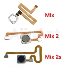 Aiinant Original Back Home Button Fingerprint Sensor Flex Cable For Xiaomi Mi Mix 2 2s Mobi
