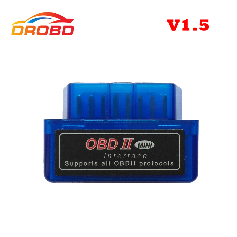 Diagnostic-Tool Code Reader ELM327 V1.5 Mini ELM 327 V1.5 Support Full Protocol Mini ELM327 V 1.5 Bluetooth OBD2 Scanner