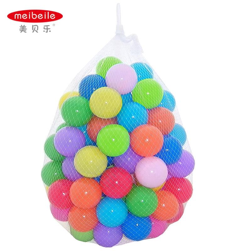 Toys For Balls : Meibeile pcs colorful kids ocean plastic toys