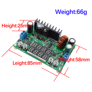 Image 5 - RD DP30V5A L sabit gerilim akım adım aşağı programlanabilir güç kaynağı modülü buck gerilim dönüştürücü regülatörü LED ekran