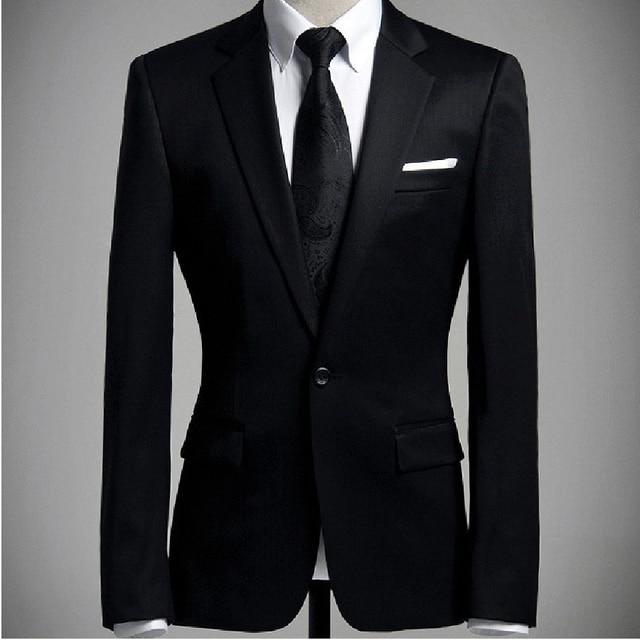 Пиджаки мужские классический весна осень рукав тонкий деловые костюмы верхней одежды пальто gentlem бизнес-формальная одежда мужчин