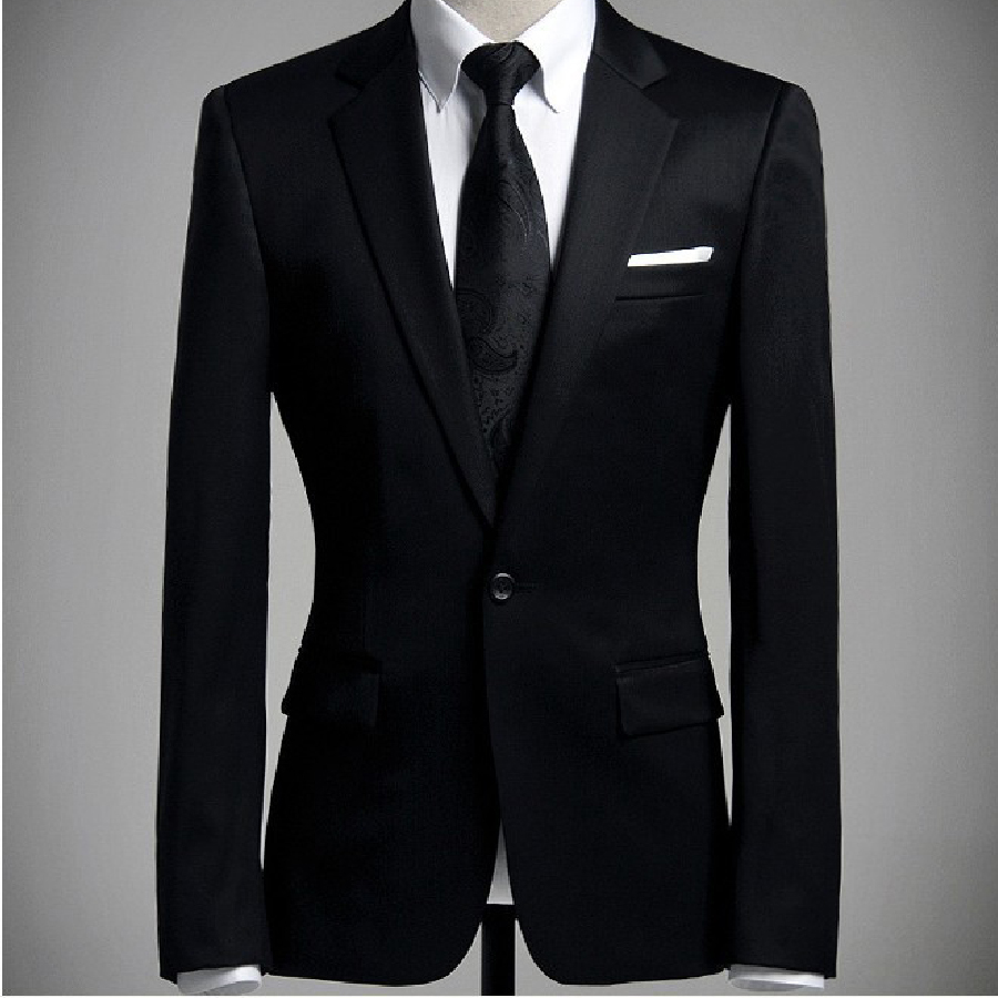 Formal Black Jacket