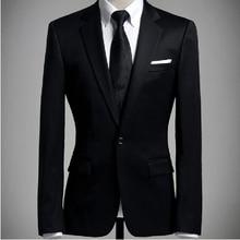 Männer Klassische Blazer Frühling Herbst Männer Blazer Volle Hülse Dünnen Anzügen Outwear Mantel gentlem Formelle Kleidung männer Blazer