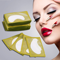High Quality 50PCS New Paper Patches Eyelash Under Eye Pads Lash Eyelash Paper Tips