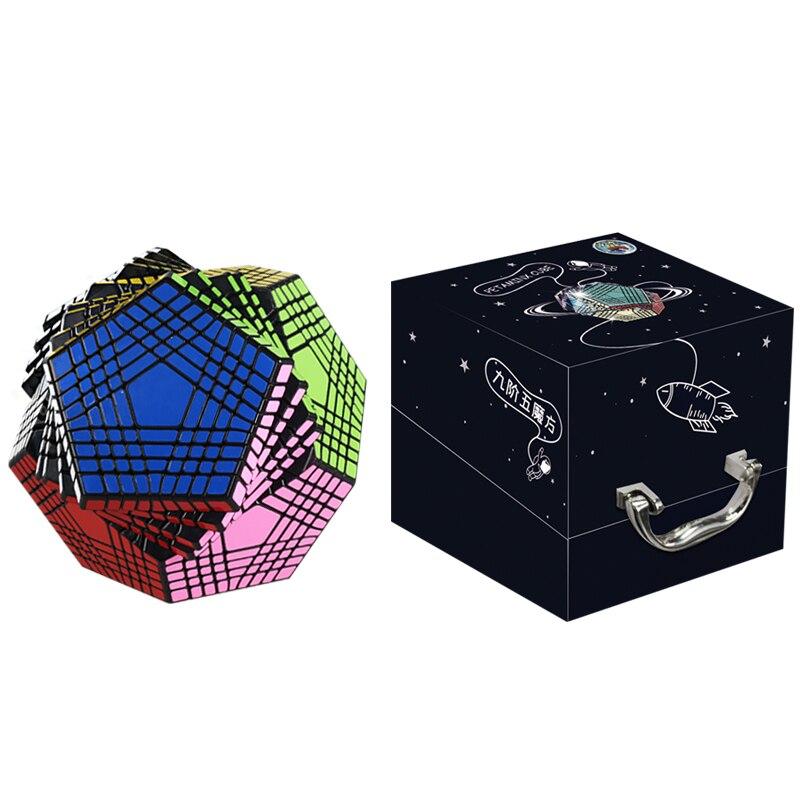 Neue Ankunft Shengshou Petaminx Beklebt Magie Cube Puzzles Schwarz 9x9 Dodekaeder Cubo Magico Pädagogisches Spielzeug Geschenk Für Kinder-in Zauberwürfel aus Spielzeug und Hobbys bei  Gruppe 1