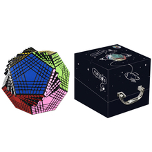 New Arrival Shengshou Petaminx Stickered Magic Cube Puzzles Black 9x9 Dodecahedron Cubo Magico Educational Toy Gift For Children