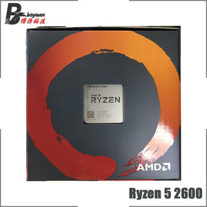 Image 4 - AMD Ryzen 5 2600 R5 2600 3.4 GHz 6 Core 12 ด้าย CPU โปรเซสเซอร์ YD2600BBM6IAF ซ็อกเก็ต AM4 ใหม่และพัดลม