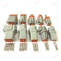 Deutsch DT Series Connector Waterproof Electrical Plug DT06 DT04 2 3 4 6 8 Pin Engine