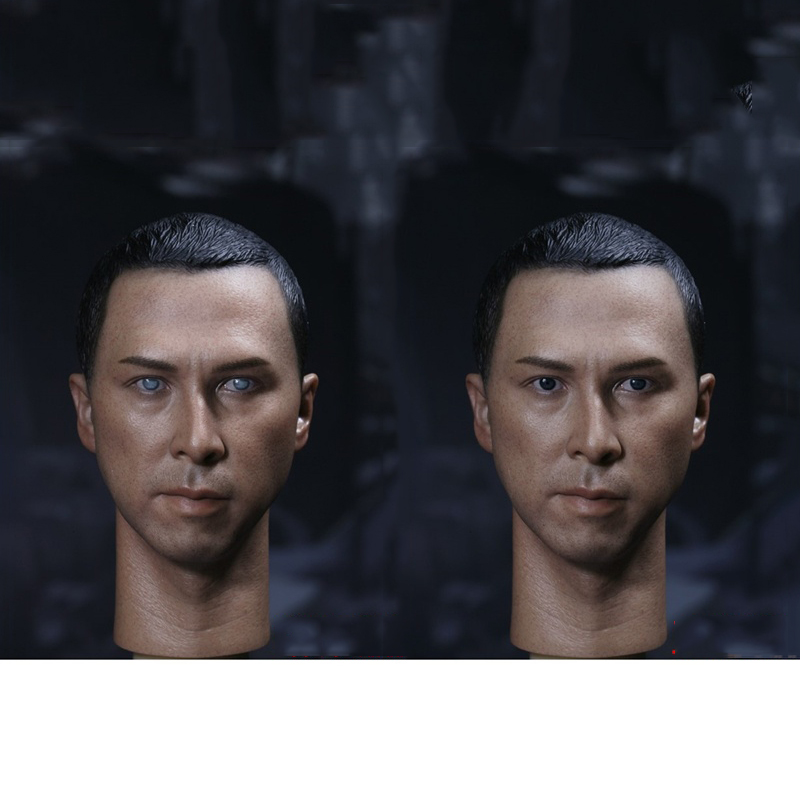 Donnie Yen 1/6 Head Sculpt For 12 Male Body Blind Version and Normal Version