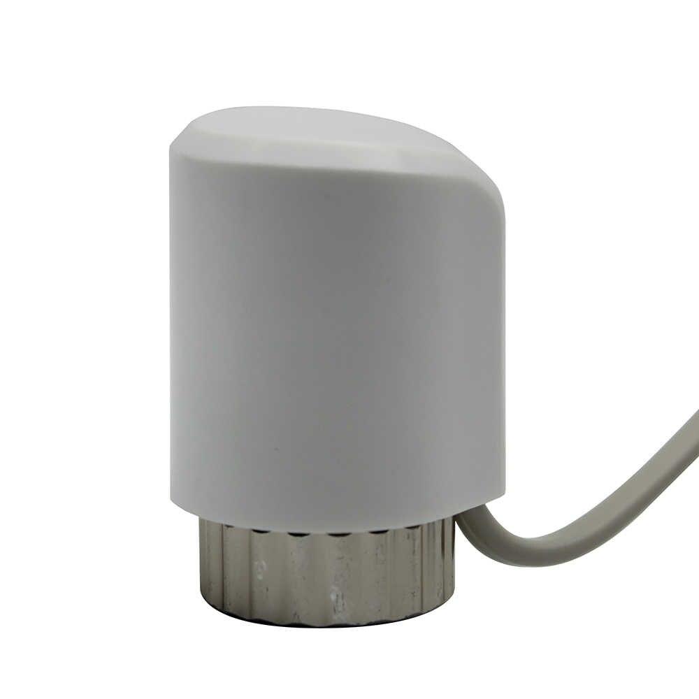 Белый нормально открытый закрыть термопривод nc Электрический термопривод клапан напольного отопления тепловой головкой радиатора 230 24 В