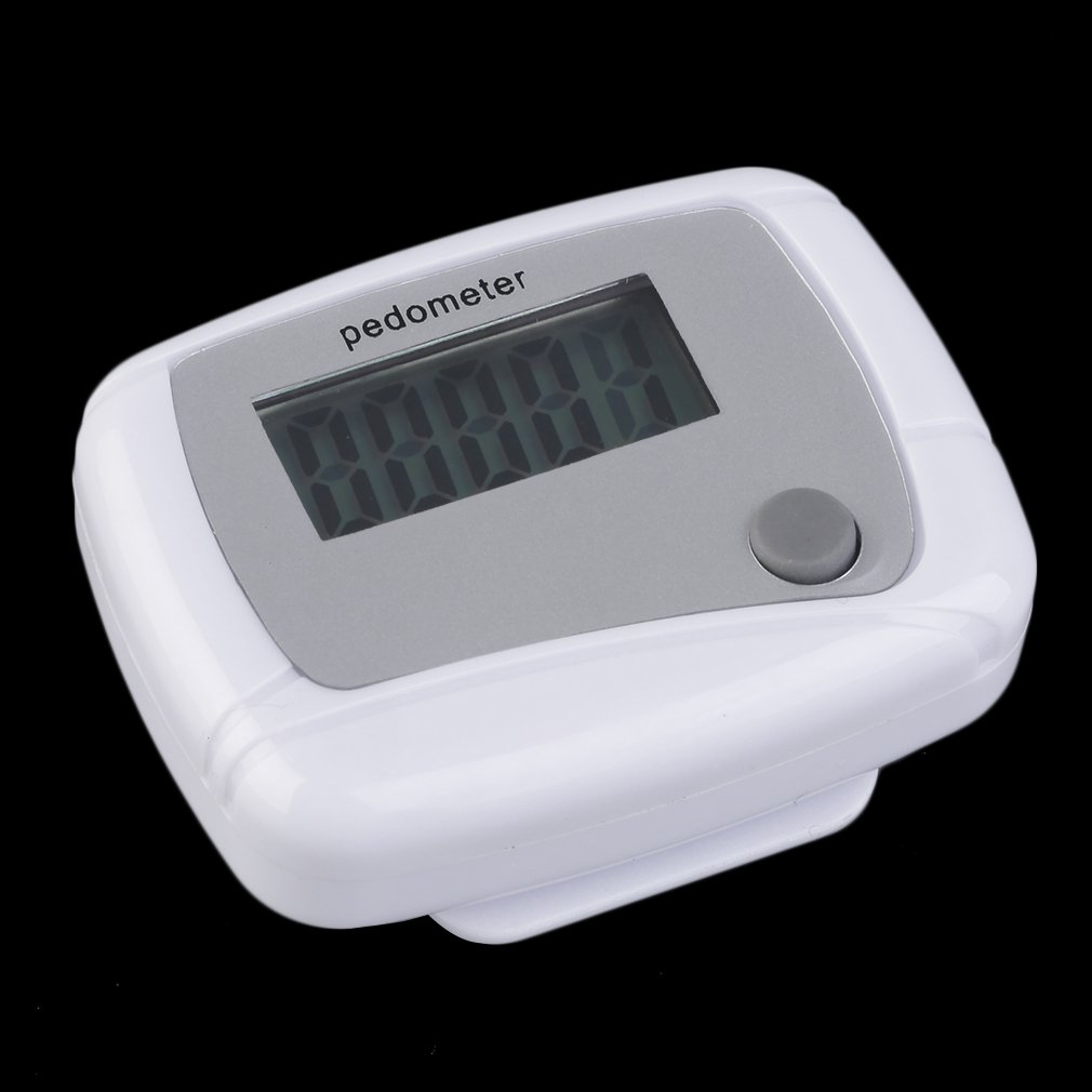Portable Mini Digital LCD Running Step Pedometer Walking Distance Counter