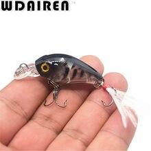 1PCS 4.5cm 4g Super Mini Crank Wobbler fishing lure Bass Bait Wobbler Hard Fishing Tackle Plastic Crankbait Fishing Bait NE-353
