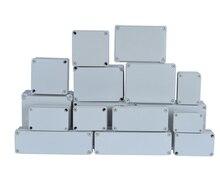 ABS пластиковая коробка IP65 водонепроницаемая распределительная коробка DIY наружная электрическая Соединительная коробка кабель филиал корпус проект корпус