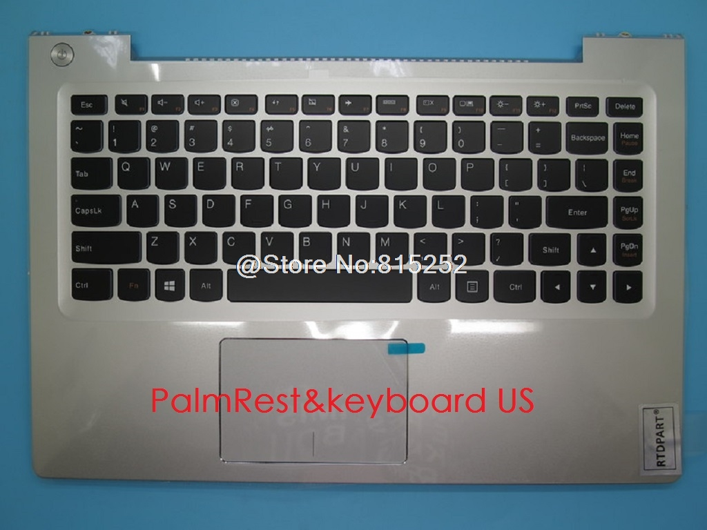 PalmRest keyboard For Lenovo U330P U330 Touch US UK Germany GR English Russia RU Turkey TR Belgium BE HB TW Touchpad Backlit New