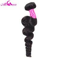 Ali Coco Hair Peruvian Loose Wave Hair Human Hair Weave Bundles 100g Piece Non Remy Hair