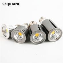 COB Dimmable E27 GU10 GU5.3 LED Spot Light 5W 7W 10W 12W Bulb Lamp Warm White/Cool White/Natural White Downlight Lighting