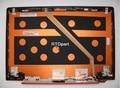 Táctil lcd cubierta superior del ordenador portátil para lenovo ideapad u330 u330t orange silver back cover 90203125 3clz5lclv30 3clz5lclv304