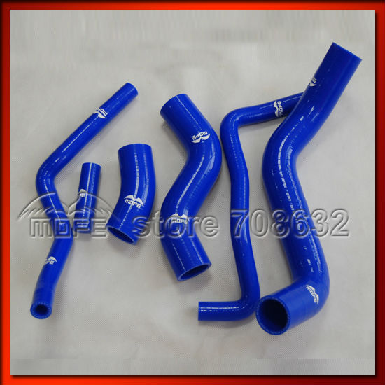 High Quality MOFE Customized / LOGO Silicone Radiator Coolant Heater Hose Kit for Subar BRZ 2013 Blue Yellow ...