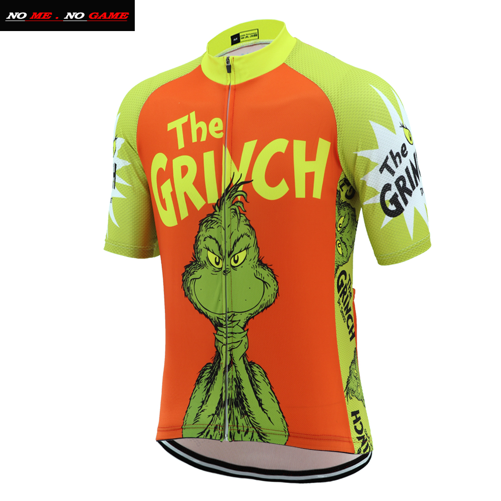 New Men's Ropa Ciclismo Cartoon Funny Cycling Jersey Cute Ride Shirt Unique Cycling Clothing Cool Apparel Novelty Bike Jersey