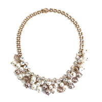 Qingdao American Jewelry Wholesale Manufacturers With Big European And American Fashion All Match Pearl Necklace