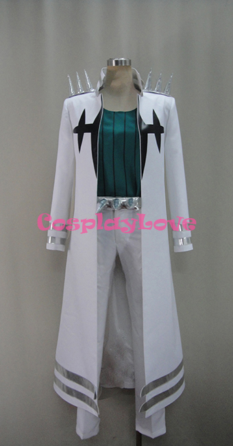 2016 Custom Made Sanageyama Honnouji Academy Elite Four White font b Cosplay b font Costume From