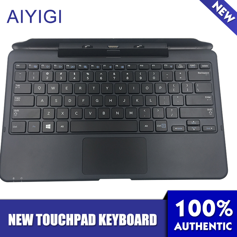 AIYIGI New Original Touchpad Keyboard Special for Samsung 700t1c XE700T1C Cover 11.6'' Tablet PC Keyboard Base new detachable official removable original metal keyboard station stand case cover for samsung ativ smart pc 700t 700t1c xe700t