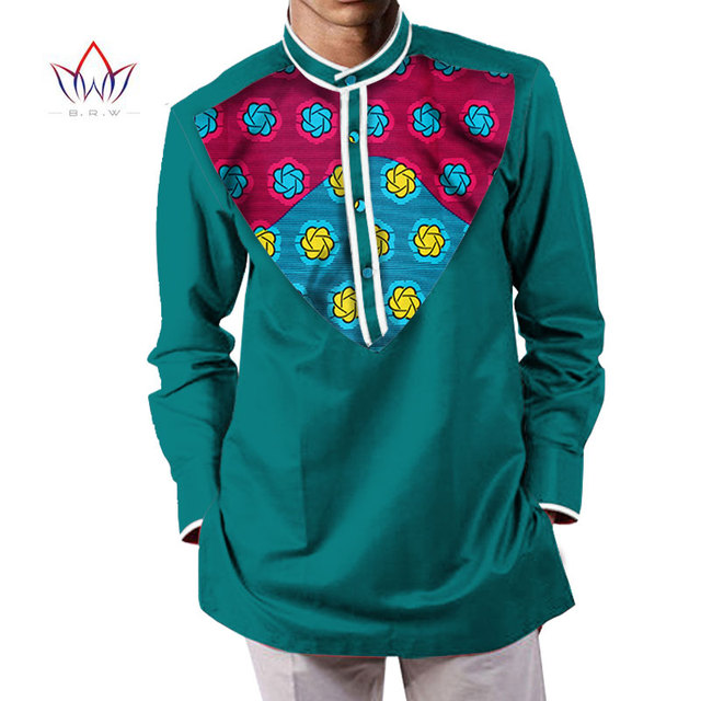 9f8d2425 2019 summer mens african clothing clothes dashikis camisa masculina Batik  printing tops man natural cotton shirts