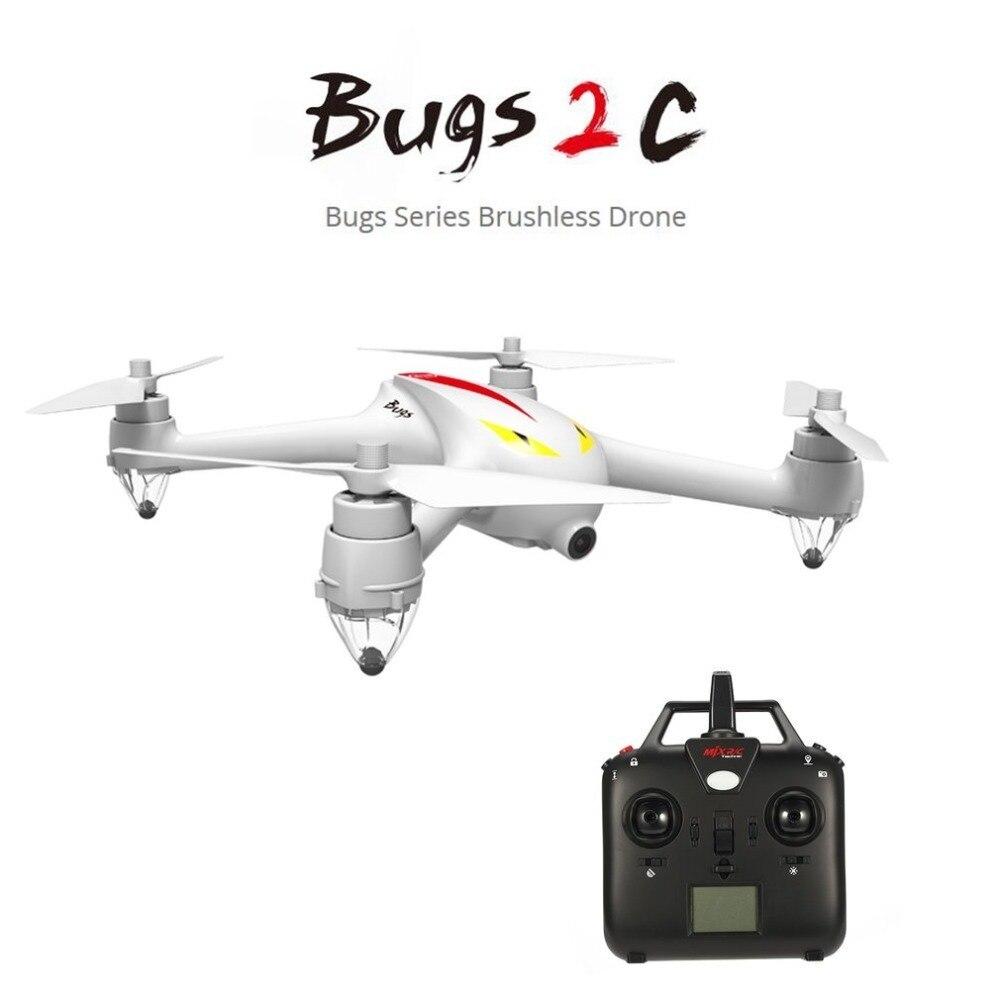 MJX B2C 2.4G 4CH 1080 P caméra Drone maintien de l'altitude retour automatique RC quadrirotor avec GPS contrôle d'orientation intelligent