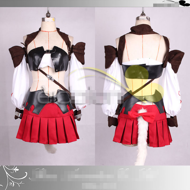 hot game anime movie final fantasy xiv ff14 party fashion dress skirt suit uniforms cosplay