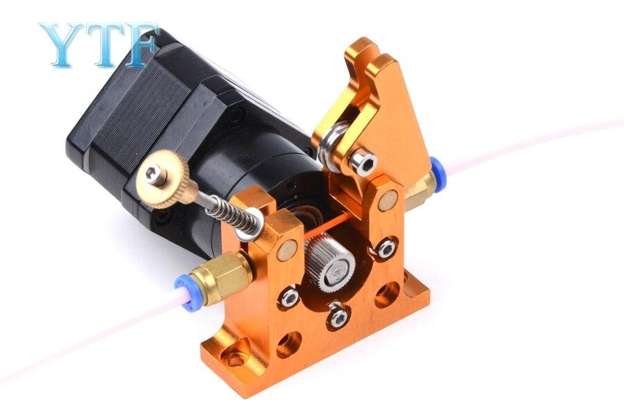 Reprap 42 motor deslizante de longa distância toda a extrusora bowden do metal, 1.75/3mm kossel mini, prusa i3 peças da impressora 3d