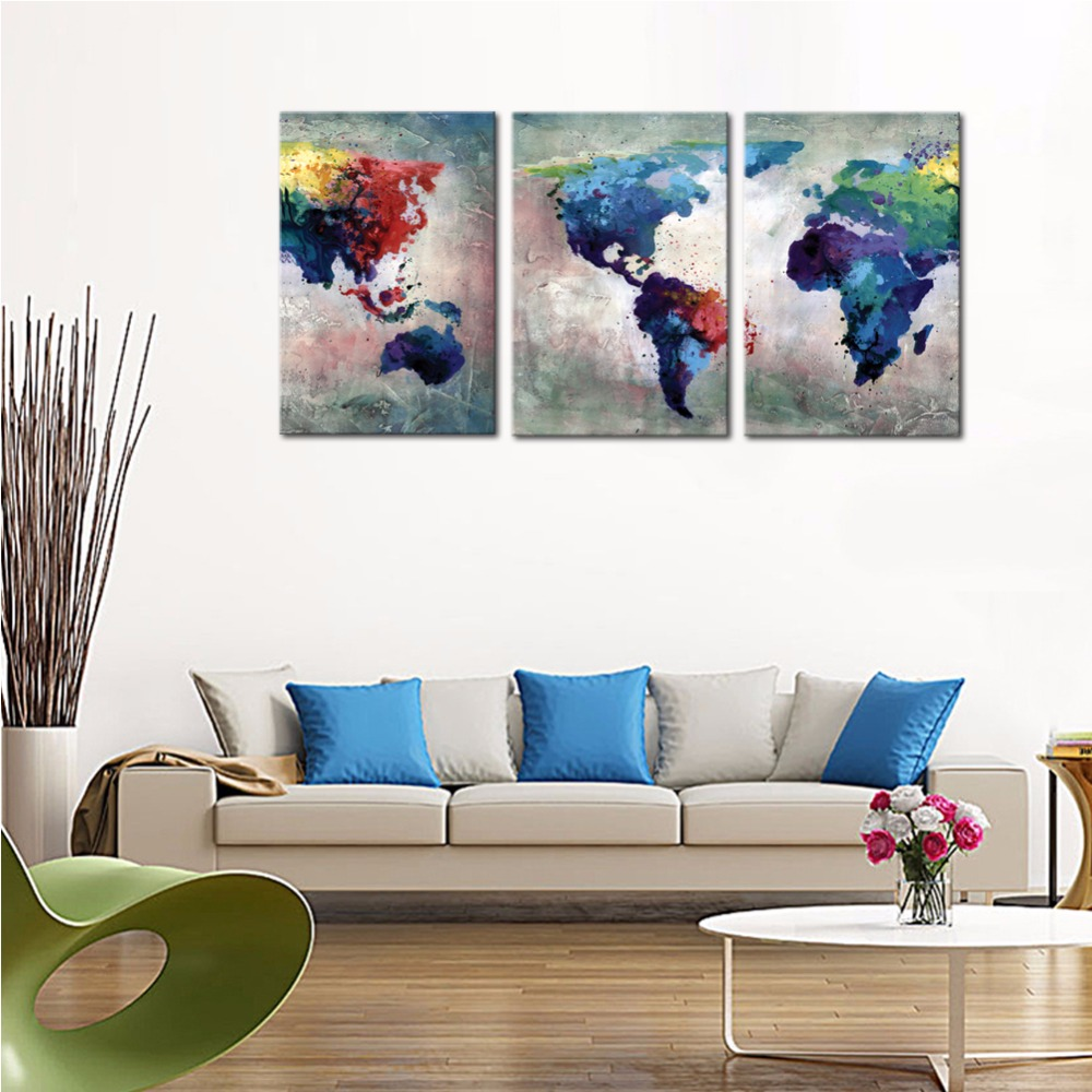 Popular Us Map Wall CanvasBuy Cheap Us Map Wall Canvas lots from