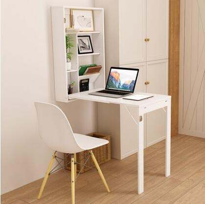 Us 138 45 29 Off Wall Hanging Folding Table Invisible Expansion Table Computer Desk Folding Mesa Plegable Dining Table Kitchen Storage Rack In