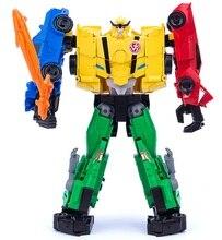 Disco de resgate de transformação ss18 sideswipe, brinquedo de figura robôs de transformação
