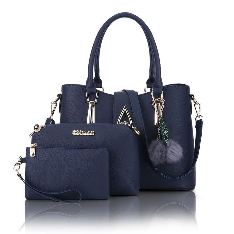 Designer Leather Female Hand Bags Handbagss