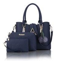 Designer Leather Female Hand Bags Handbags Women Famous Brands 2017 Ladies Shoulder Bags Sac A Main