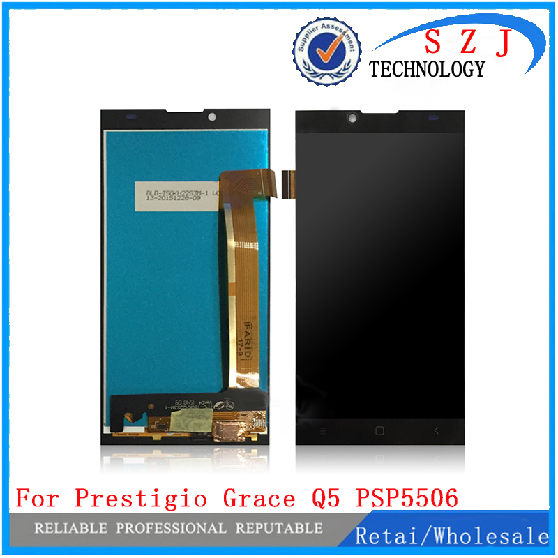 New For Prestigio Grace Q5 PSP5506 DUO PSP5506 PSP 5506 DUO LCD Display Touch Screen Digitizer Replacement Assembly